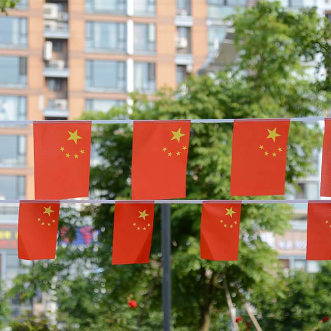 色丁旗帜布 ST-124